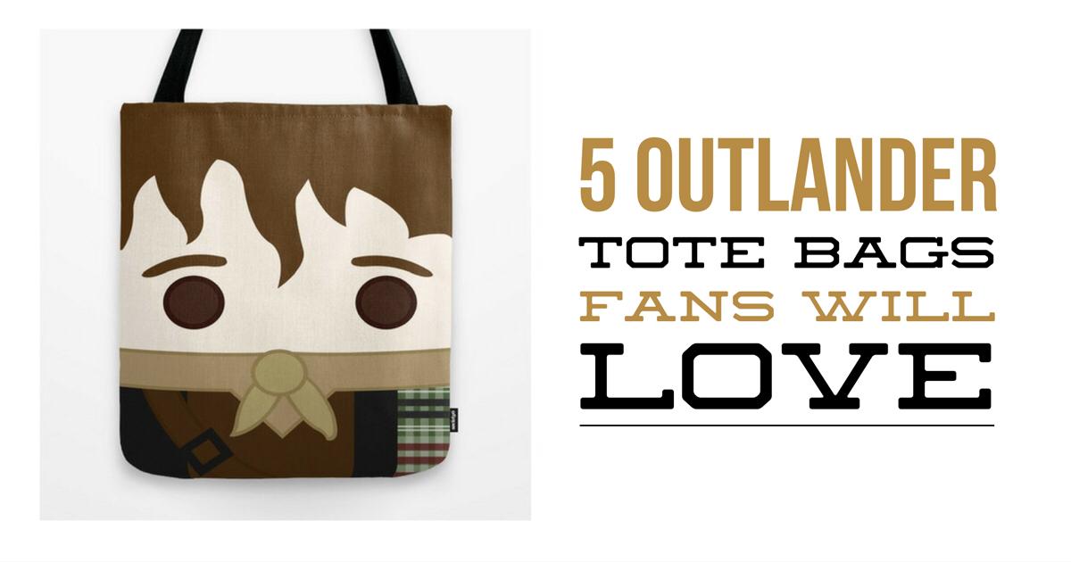5 Outlander Tote Bags Fan Will Love