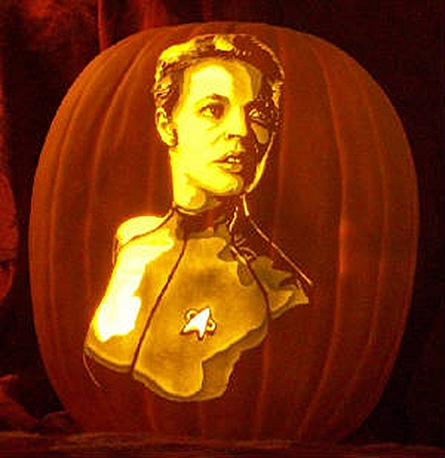 Seven of Nine Pumpkin