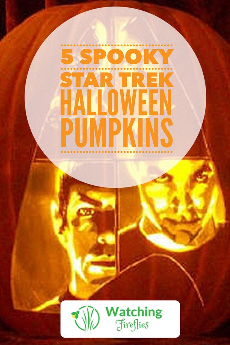 5 Spooky Star Trek Halloween Pumpkins