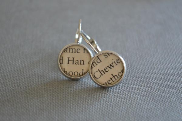 Han And Chewie Earrings