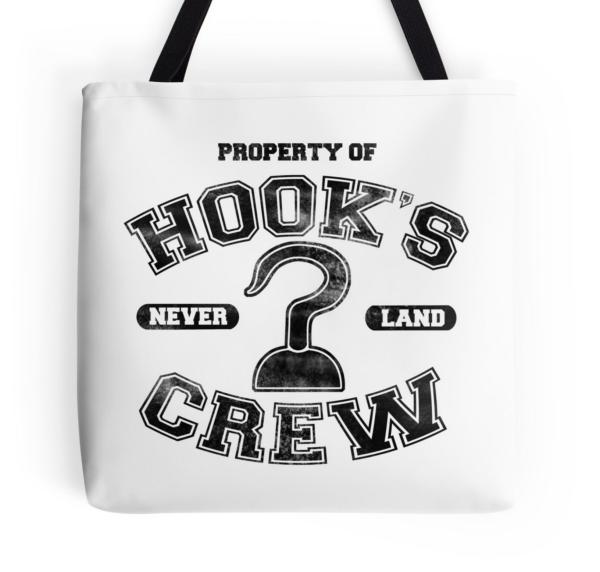 Hooks Crew Tote Bag