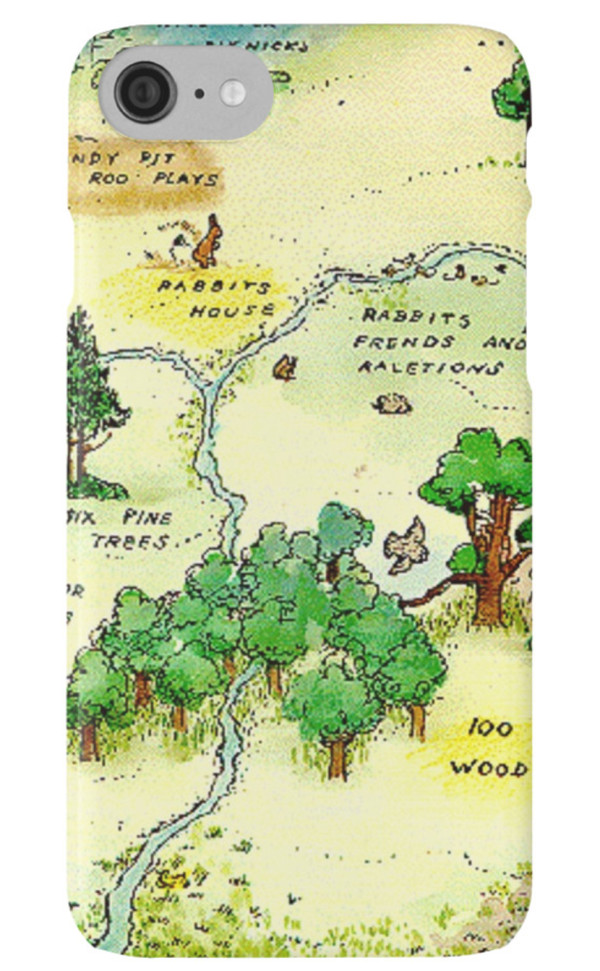 100 Acre Forest iPhone Case