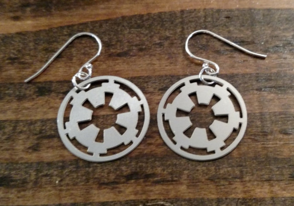 Imperial Empire Crest Earrings