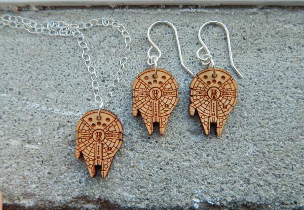Millenium Falcon Earrings