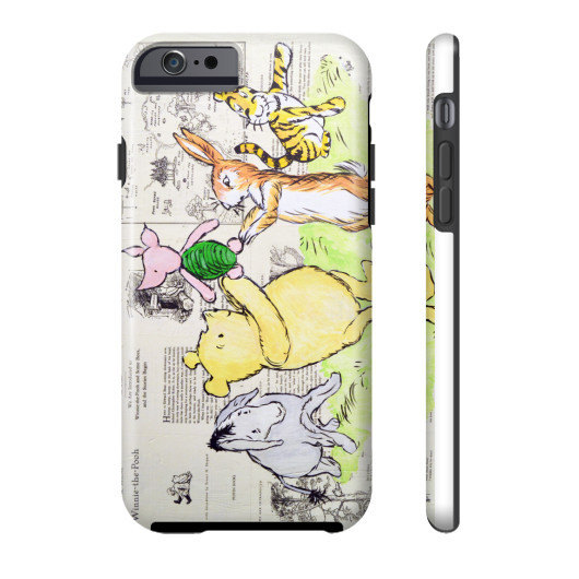 The Whole Gang Winnie The Pooh iPhone Case