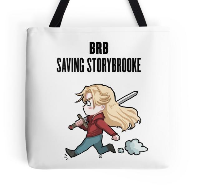 BRB Saving Storybook Tote Bag