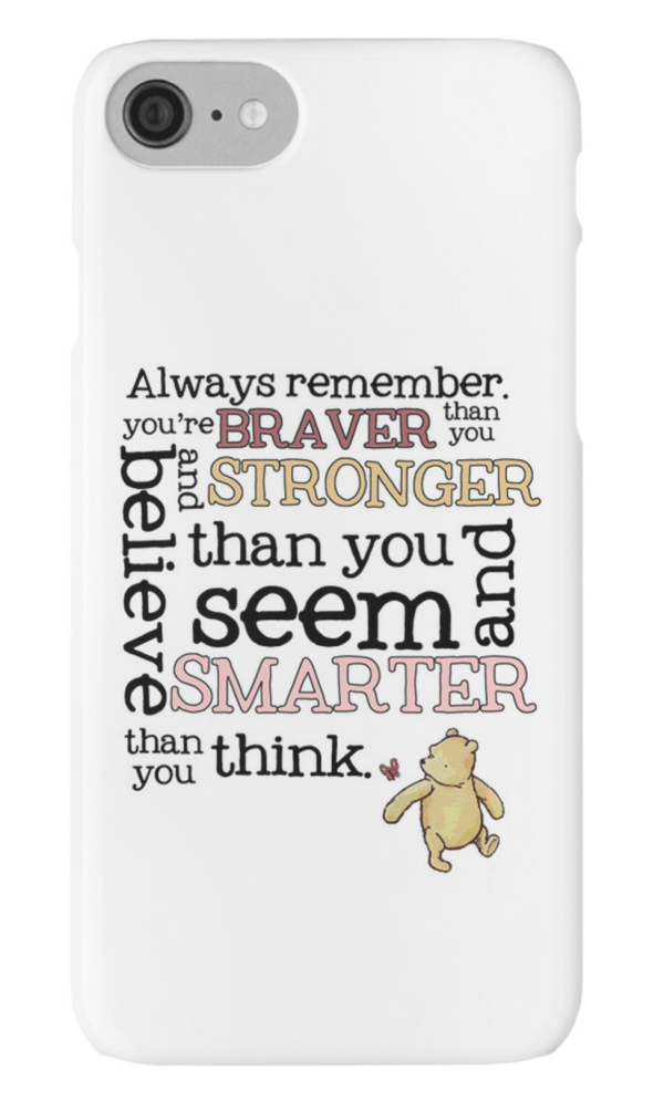 Braver than you believe iPhone Case
