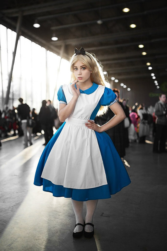 Alice in Wonderland Disney Cosplay Dress