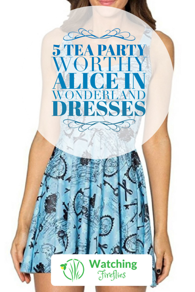 5 Tea Party Worthy Alice in Wonderland Dresses Pinterest