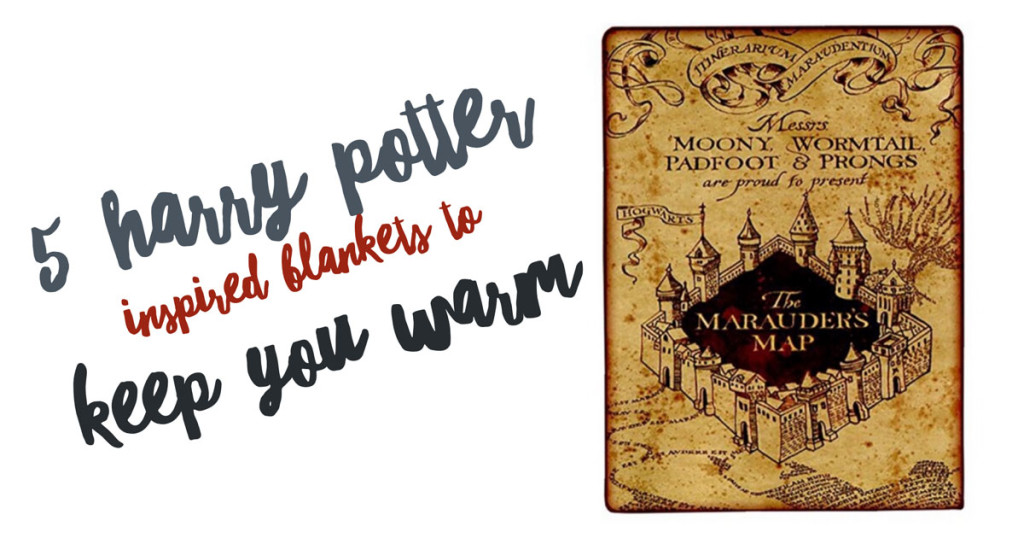 5 Harry Potter Inspired Blankets