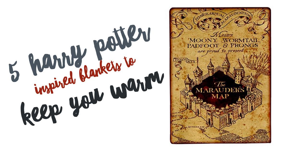 5 Harry Potter Inspired Blankets