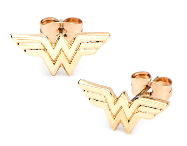 Gold Classic Wonder Woman Logo