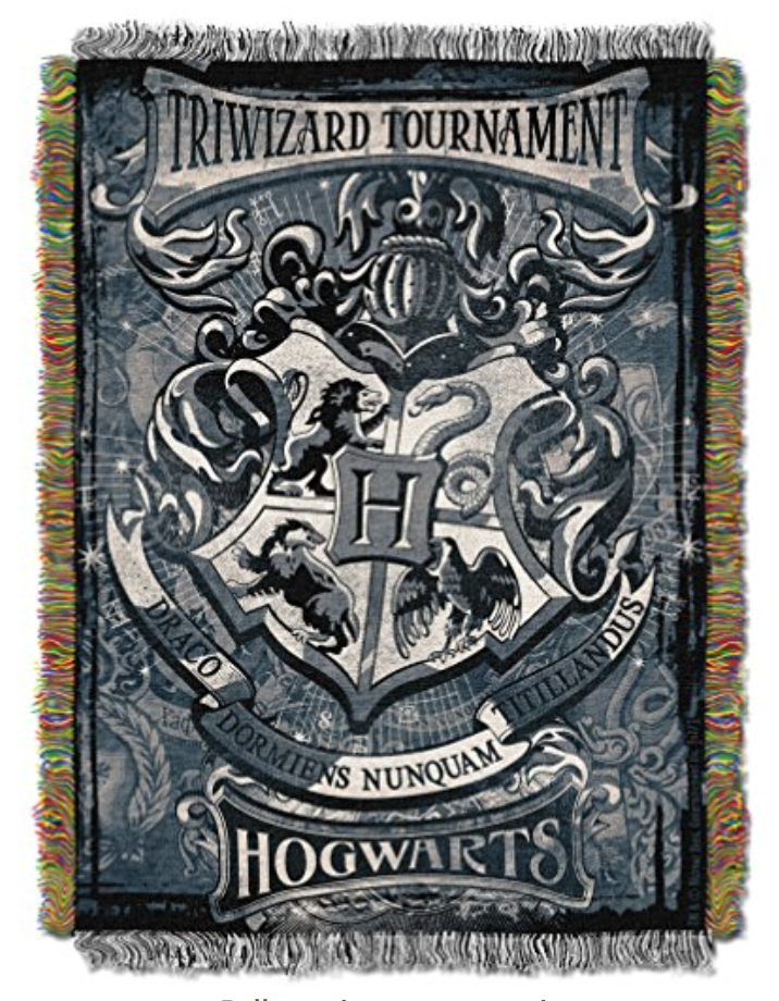 Triwizard Tournament Blanket