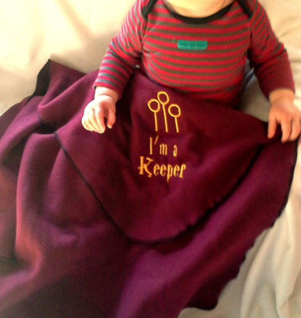 Harry Potter Baby Blanket