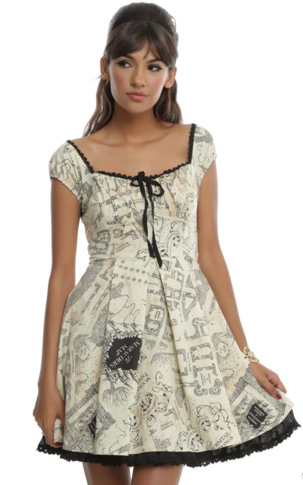 Marauders Map Dress