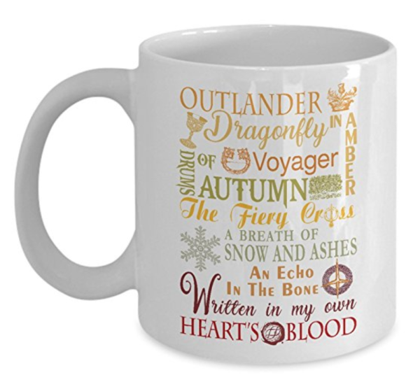 Outlander Book Name Mug