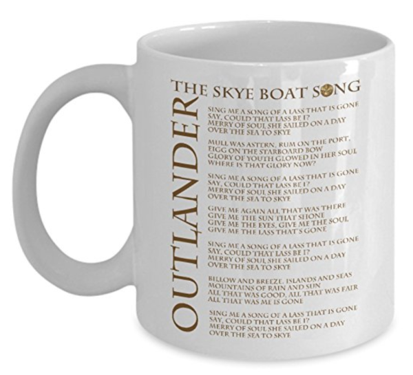 Outlander Skye Boat Song Mug