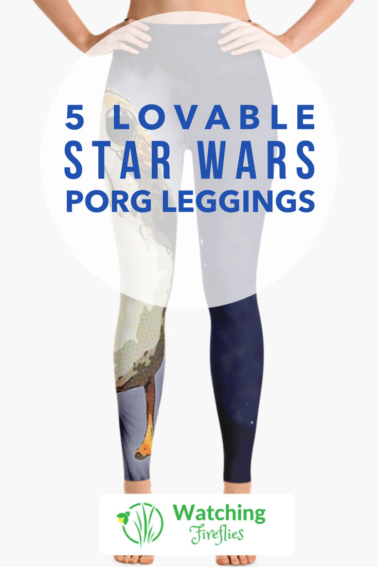 5 Lovable Star Wars Porg Leggings