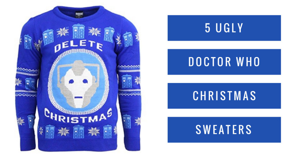 5 Ugly Doctor Who Christmas Sweaters
