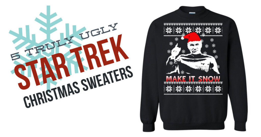 5 Truly Ugly Star Trek Christmas Sweaters