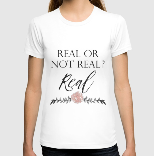 Real or Not Real Hunger Games T-Shirt