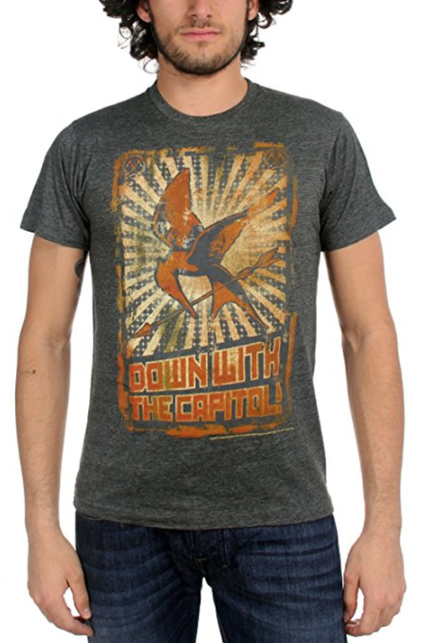 Down With The Capital Hunger Games T-Shirt