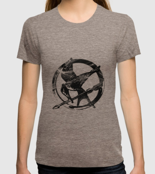 Hunger Games Pin T-Shirt
