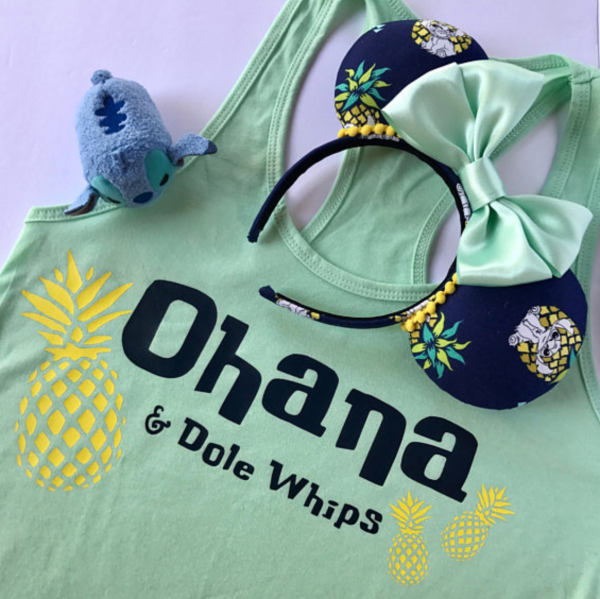 Ohana and Dole Whips Disney T-Shirt