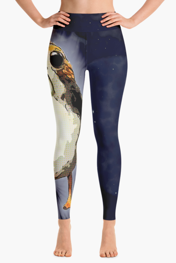 Cosmic Porg Star Wars Leggings