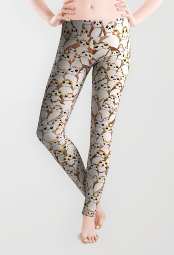 Porg Overload Star Wars Leggings