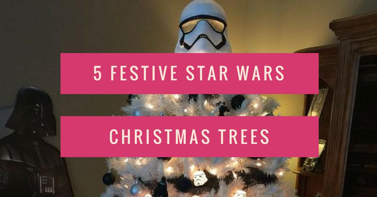 5 Festive Star Wars Christmas Trees