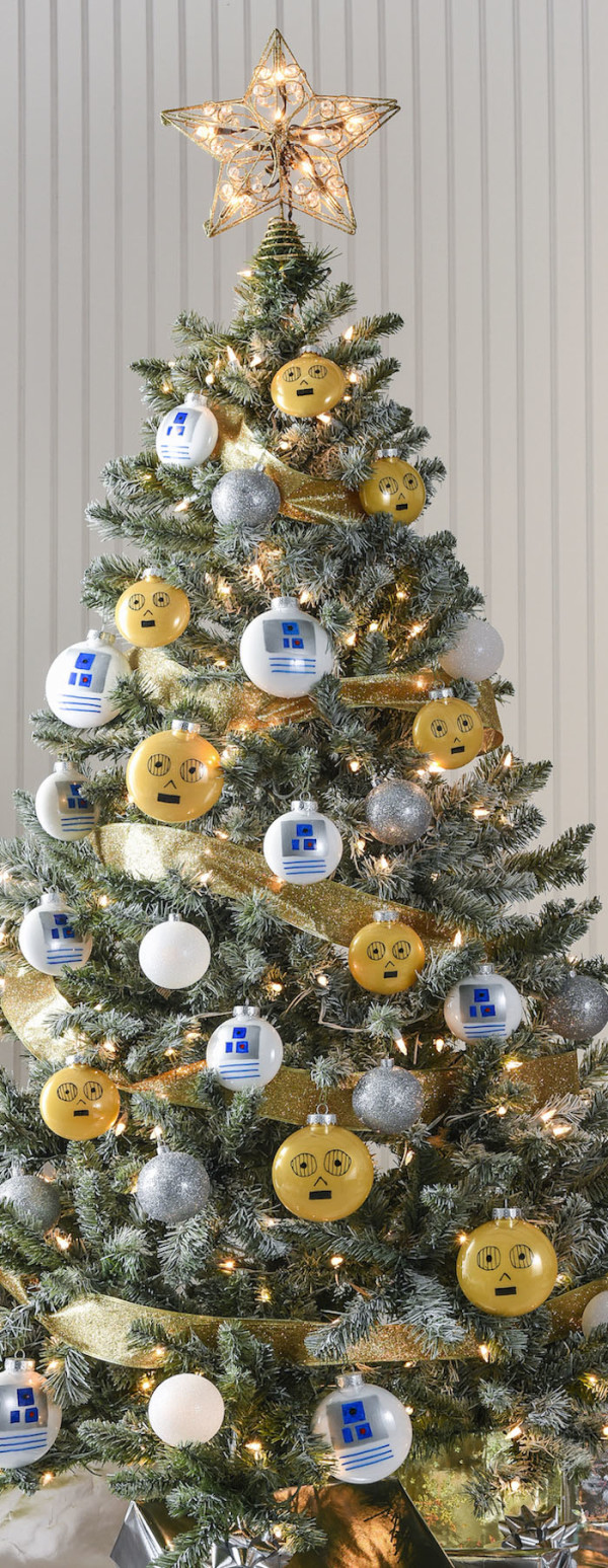 Droids Star Wars Christmas Tree