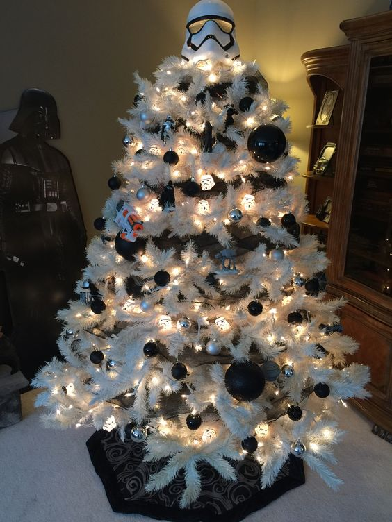 Storm Trooper Star Wars Christmas Tree