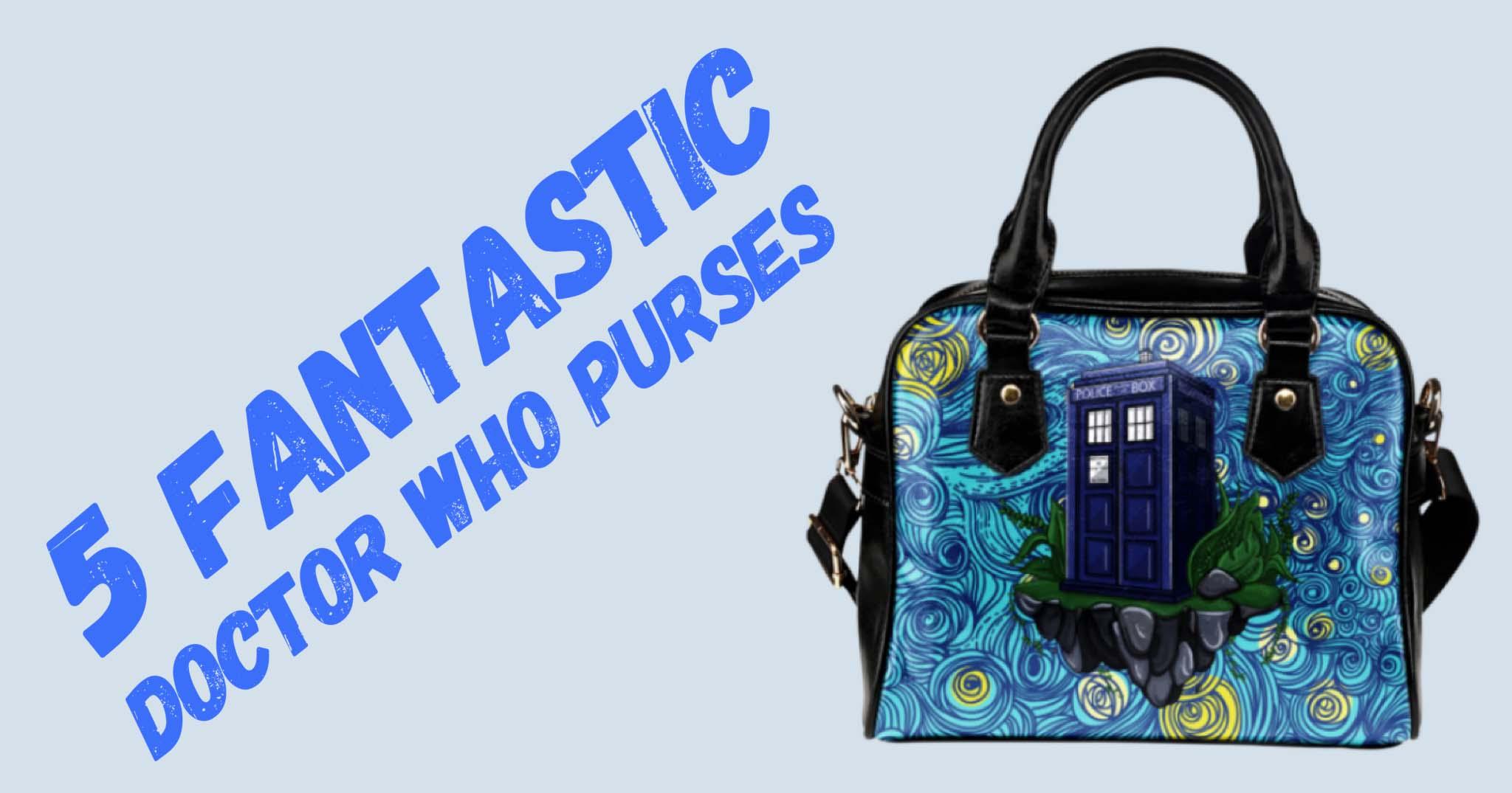 5 Fantastic Doctor Who Purses