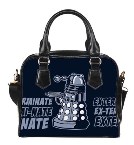 Doctor Who Dalak Exterminate Purse
