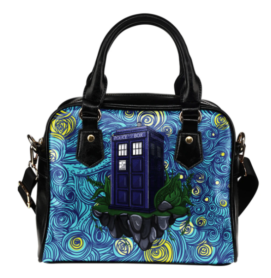 Doctor Who Starry Night Purse