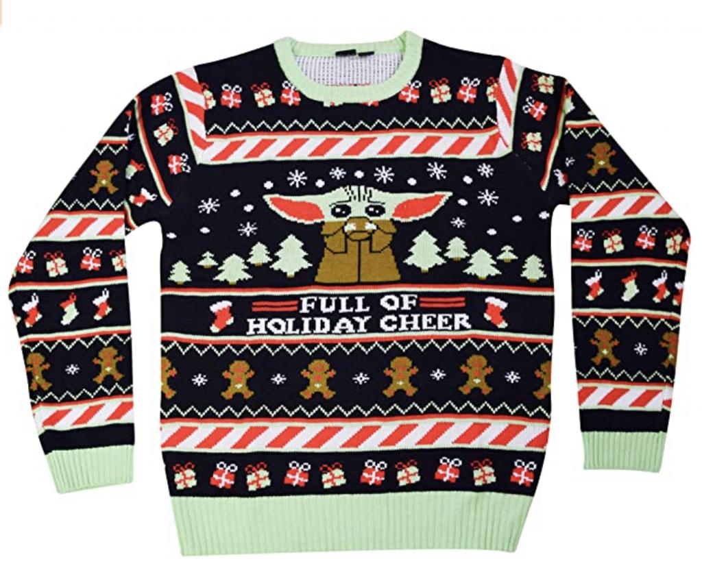 Mandalorian The Child Christmas Sweater