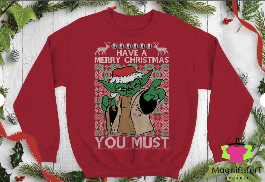 Yoda Star Wars Christmas Sweater