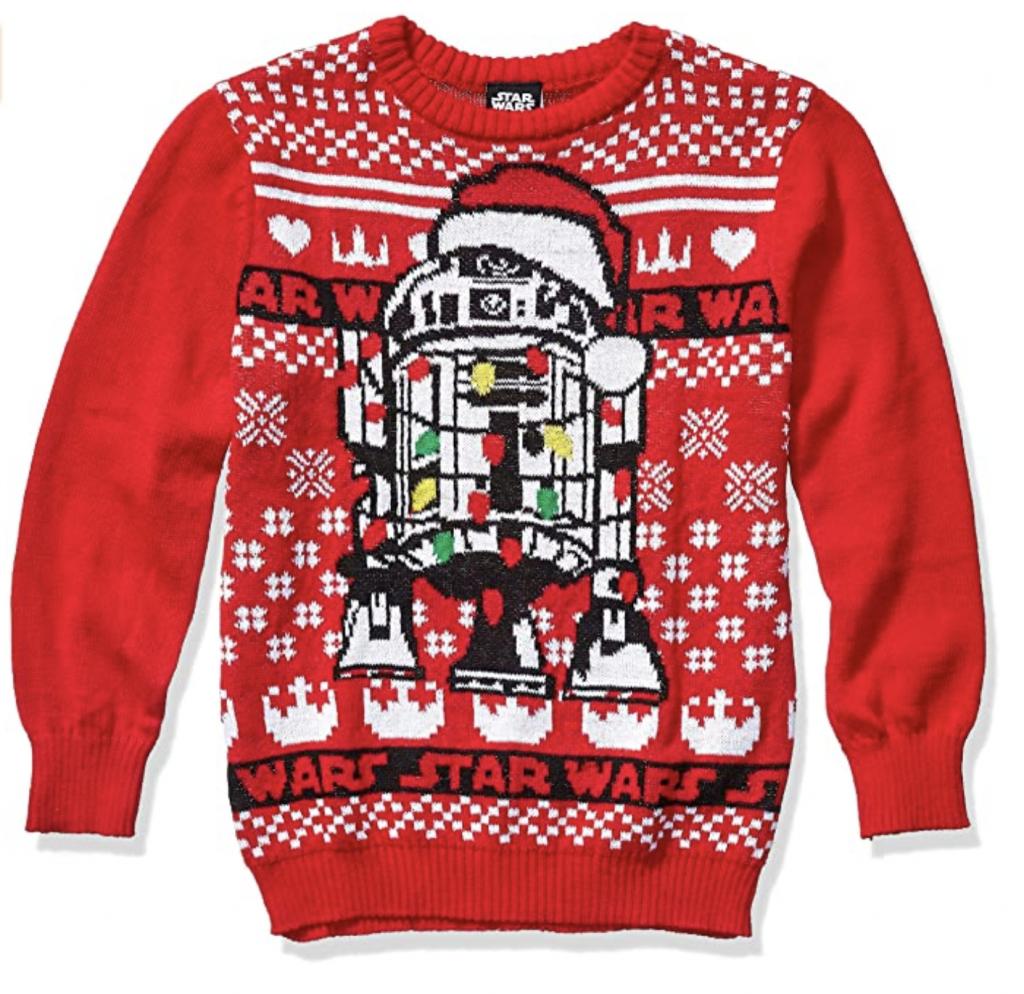 R2D2 Star Wars Christmas Sweater